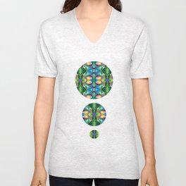 kaleidoscopic  Unisex V-Neck