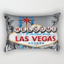 Welcome to Fabulous Las Vegas Rectangular Pillow