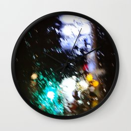 Rainy DayZ 35 Wall Clock
