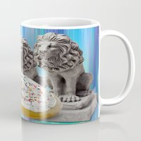 cookies Mugs featuring COOKIES! by Aldo Couture