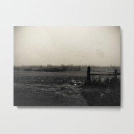 Desolation Fence 3 Metal Print