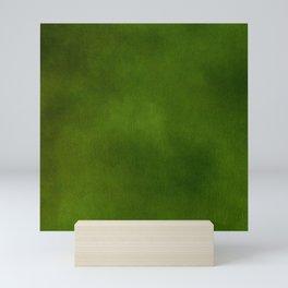 Green Color Velvet Mini Art Print
