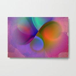 crossing colors -b- Metal Print