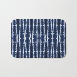 Palm Tiki Shibori Indigo Bath Mat