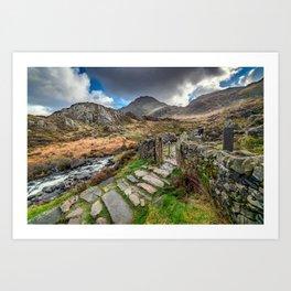 Gate to Snowdonia Art Print