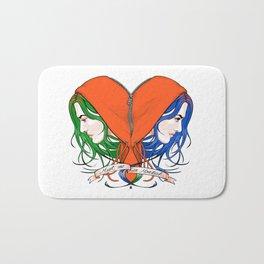 Clementine's Heart Bath Mat
