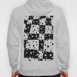 Holes In Black And White Hoody
