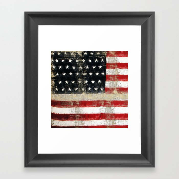 USA Flag ~ American Flag ~ Distressed Pattern ~ Ginkelmier Inspired ...