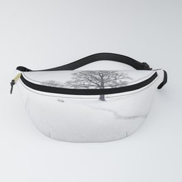 Rural Winter Landscape Fanny Pack