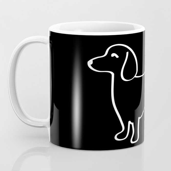 Doxie Love White Coffee Mug