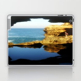 """Inside """"The Grotto"""" Looking Out! Laptop & iPad Skin"""