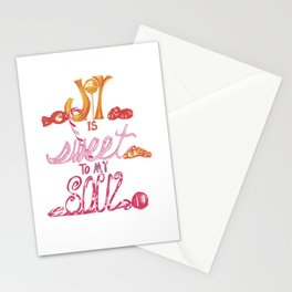JOY is Sweet to My Soul Stationery Cards