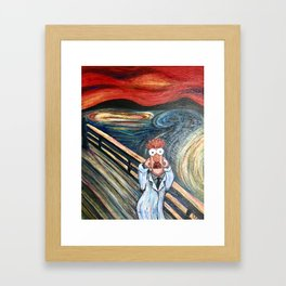 The Meep Framed Art Print