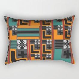 Letters pattern Rectangular Pillow