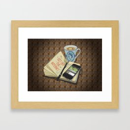 Internet Addict Framed Art Print
