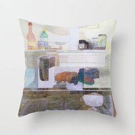Starving Artist (D.W) Throw Pillow