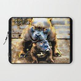 Pit Bull Models: Blue Defender 01-01 Laptop Sleeve