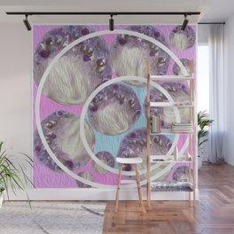 Moon Bubble Wall Mural