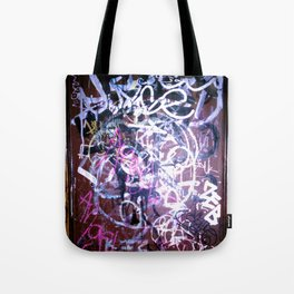Bathroom Graffiti II Tote Bag