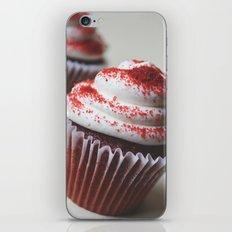 RED VELVET CUPCAKE PHOTOGRAPH 2 iPhone & iPod Skin
