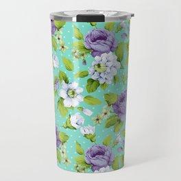 Hopeless Romantic - aqua version Travel Mug