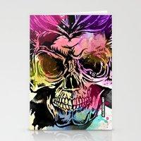kindle Stationery Cards featuring 128@AllSkull™ by ALLSKULL.NET