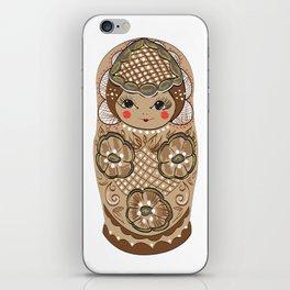 Matrushka iPhone Skin