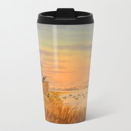 Duck Hunters Calling Travel Mug