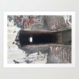 Doorway at el Morro Art Print
