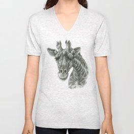 The giraffe G2012-049 Unisex V-Neck