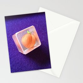 Freeze peach Stationery Cards