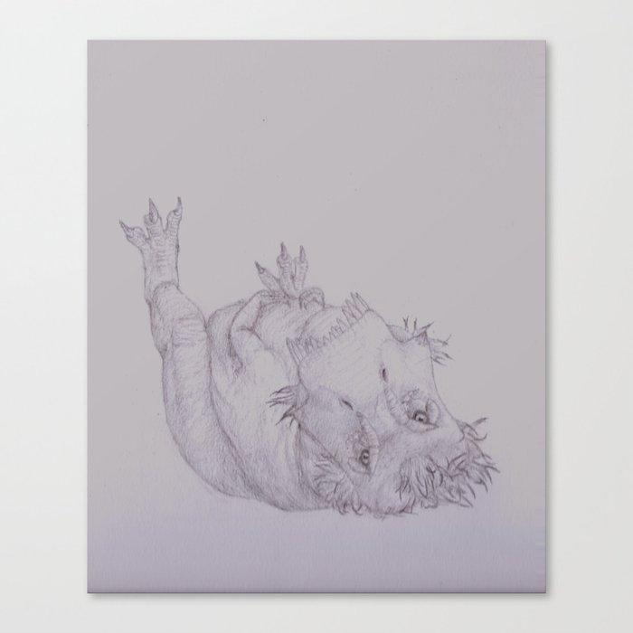 Resting Tyrannosaur  Canvas Print