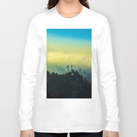 los angeles Long Sleeve T-shirts featuring Los Angeles by Sbnumb3