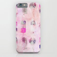 Ice Cream popsicles pastel tone watercolor art iPhone 6s Slim Case