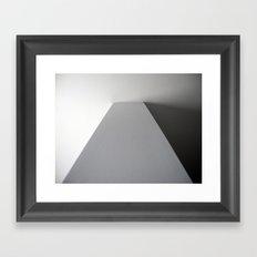 straight corner Framed Art Print