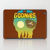 the goonies iPad Cases featuring The Goonies by tuditees