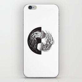 Jellyfish Yin Yang iPhone Skin