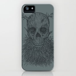 The Lumbermancer (Grey) iPhone Case