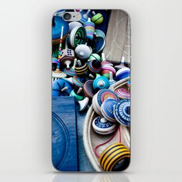 Spinners iPhone Skin