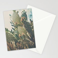 desert prickly pear cactus ... Stationery Cards