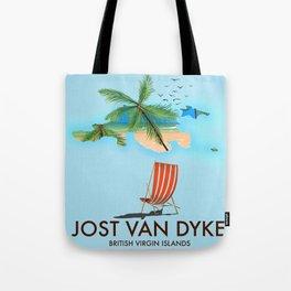 jost van dyke British Virgin Islands Tote Bag