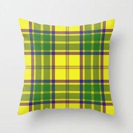 Checkered style Throw Pillow