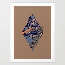 The trip Art Print
