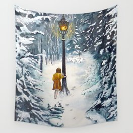 The Lamppost Wall Tapestry