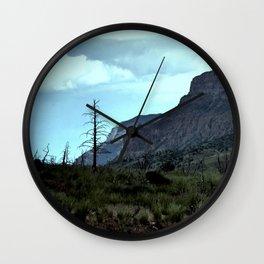 Graveyard of Trees Wall Clock