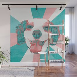 Marley's Lil Smiling Face Wall Mural