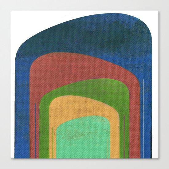 A Elephants Stack Canvas Print