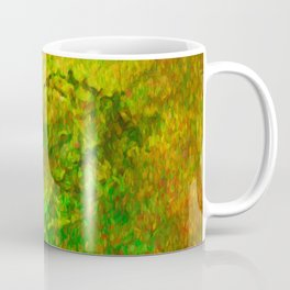 The Heart - Painting by Brian Vegas Coffee Mug