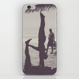 Yoga in Rio iPhone Skin