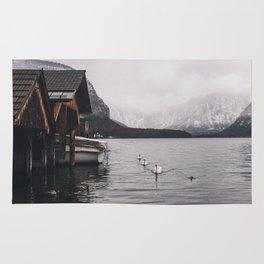 Lake and mountains Rug